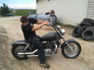 Honda shadow 1995tune