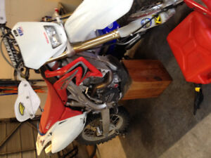 2009 CRF450X LOW HOURS, LOTS OF EXTRAS