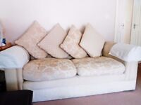 2 x Large 2 Seat Sofa's in very good condition - £60 each or £100 for both
