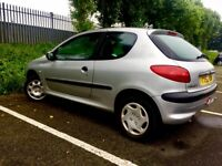 Peugeot 206 1.4 Hdi DIESEL only £30 per year road tax