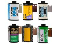 Film Scanning Service - High Resolution and Accurate Colour Negative Scanning