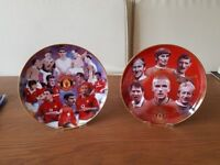 Manchester United Collectors Plates - £17