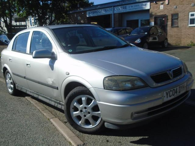 2004 04 VAUXHALL ASTRA 1.7 ACTIVE CDTI 16V 5D 80 BHP DIESEL
