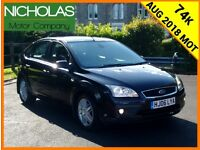 2006 FORD FOCUS 1.6 GHIA 5DR /AUG 2018 MOT /SERVICE HISTORY + CAMBELT /LOW MILES /PART EX