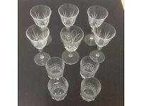 Wine & whisky Glass set