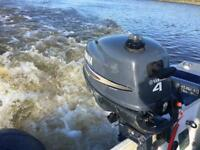 Yamaha 4hp 4 stroke outboard 2007 for sale or swap