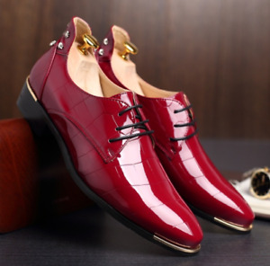 Red Dress Shoes - Brand New - Size 44 (10.5)