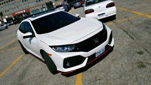 2017 honda Civic Sport Manual with type R RIMS and body kit