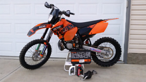 *2 Stroke 2007 KTM 250XC Mint Tons of Mods*