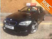 BMW 3 SERIES 320d M Sport 2dr (black) 2012