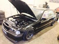 BMW E36 325 M50 drift car (road legal)