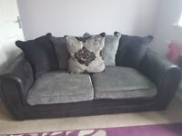 3 & 2 seater sofa, excellent condition. Collection only, £250 ono