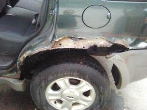 Auto Body Repairs free quotes