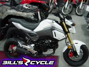 2017 HONDA On Road MSX 125 H   Grom White Pearl