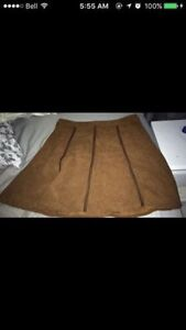 size large suede skirt - $5