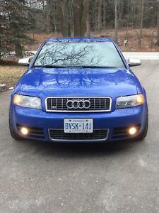 2005 Audi S4 Nogaro Blue