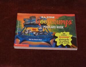 GOOSEBUMPS POSTCARD BOOK