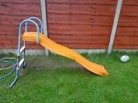 Children's slide, used condition