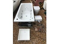 Jacuzzi bath with Bathroom suite (MUST GO TODAY)