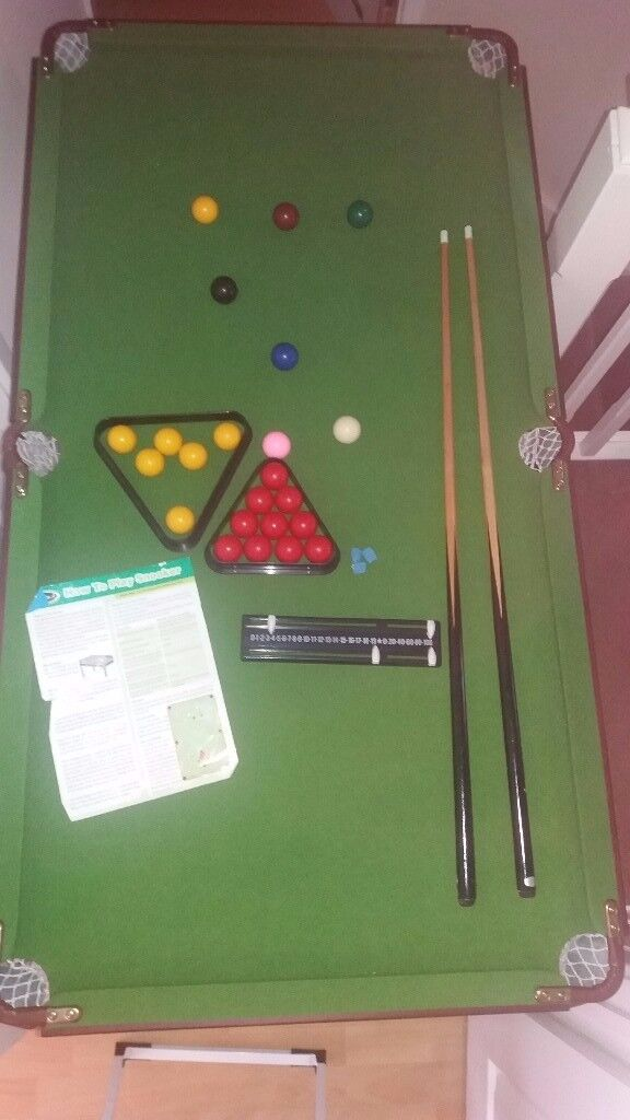 Snooker Pool Table Ft Inch X Ft Inch In Eckington South - 7 inch pool table