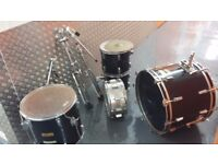 Drum kit parts incl pearl cymbal stands
