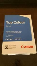 Canon Top Colour Zero A4 paper. 500 sheets. 100g/m2