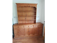 Dresser. Pine. In good condition. Top and bottom sections are seperate