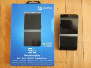 BlueAnt S4 true hands free VOICE CONTROLLED for cell phone