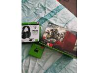 Xbox one s gears of war 2tb console se