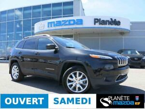 2016 JEEP CHEROKEE 4X4 LIMITED NAVIGATION