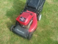 "Mountfield SP550 Self Propelled Petrol Mower (21 "" blade) with Briggs & Stratton engine / Lawnmower"