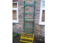 Metal shelves ideal for storage, good condition, very solid