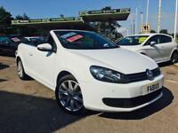 2012 Volkswagen Golf Convertible 2.0TDI 140BHP BlueMotion Tech *Loads of Extras*