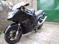 Honda CBR1100 Blackbird.