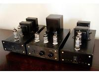 Avreavox Arcana Valve Mono Block HiFi Amps & Pre-Amp