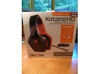 Triton Katana 7.1 Surround Sound Headphones. PRICE SLASHED!!