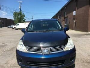 2007 Nissan Versa 1,8 S-WOW 87400 KM CERTIFIED-WARRANTY INCLU
