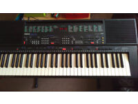 YAMAHA KEYBOARD PSR-400 with Stand - Full Size , perfect condition.