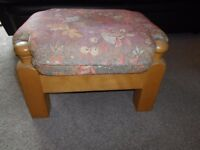 Footstool Wooden