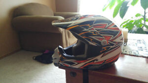 Have two moto cross helmets