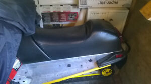 Ski Doo S chassis seat cover