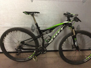 2014 Scott 920 full suspension bike
