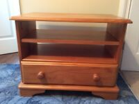 TV unit pine effect for sale