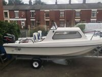 Wilson Flyer 17ft Fishing Boat