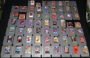 50+ Jeux NES et autres