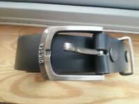 Diesel black belt size 38