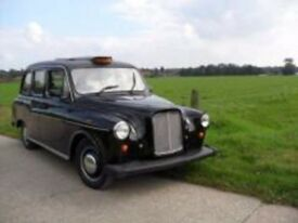 WANTED OLD BLACK LONDON TAXI CAB