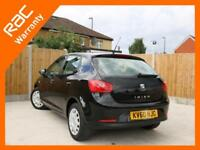 2010 SEAT Ibiza 1.2 S 5 Door 5 Speed Air Conditioning Seat Plus 1 Lady Owner Onl
