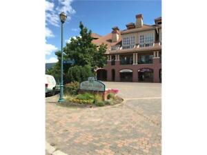 Top floor LOFTED 1 bdrm/2 baths with VIEW of golf course.