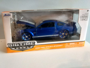 Like new in box 1/24 Mustang GT500KR
